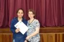 Entrega dos certificados de Alemão - 1º Ano A EM
